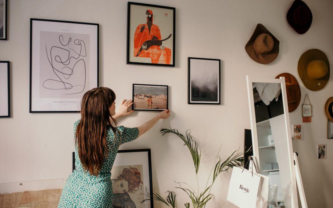 Des activités manuelles pour pouvoir décorer votre intérieur.